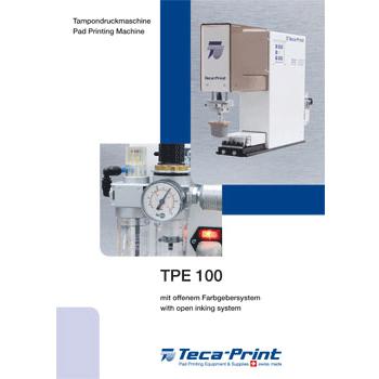 Tampondruckmaschine TPE 100