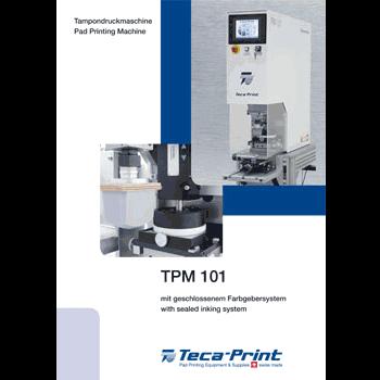 Tampondruckmaschine / Pad Printing Machine TPM 101
