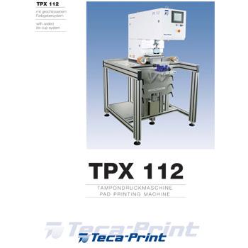 Tampondruckmaschine TPX 112