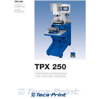 Tampondruckmaschine TPX 250