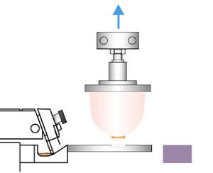 Tampondruck - Tampon hebt vom Klischee ab
