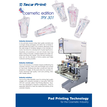 Pad Printing Technology Cosmetic Edition