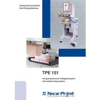 Pad Printing Machine TPE 151
