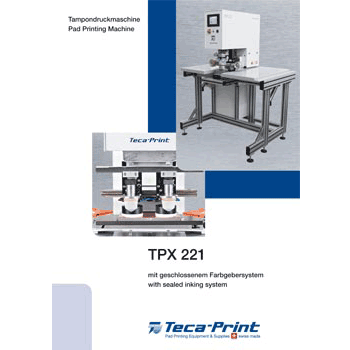 Pad printing machine TPX 221