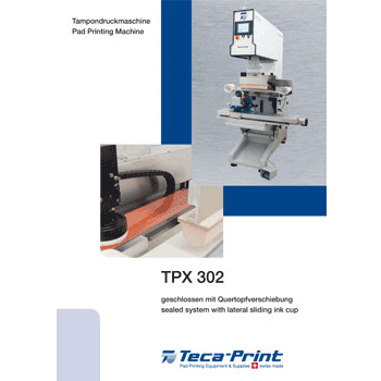 Pad printing machine TPX 302