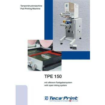 Pad printing machine TPE 150
