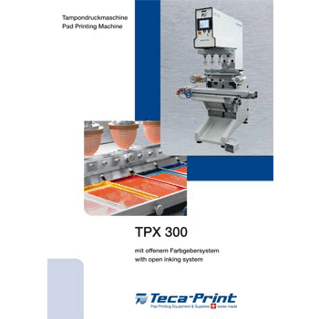 Pad printing machine TPX 300
