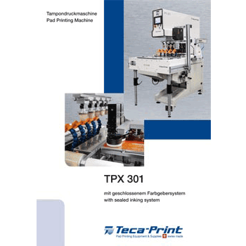 Pad printing machine TPX 301
