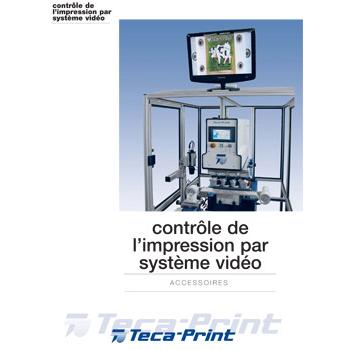 Controle de l'impression par systeme video