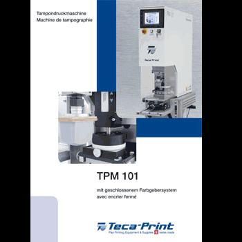 Machine de tampographie TPM 101