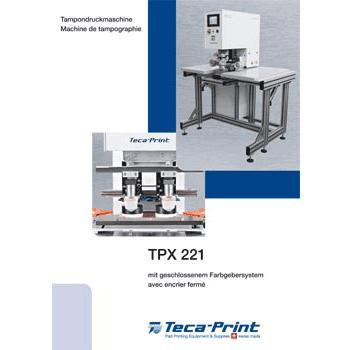 Machine de tampographie TPX 221