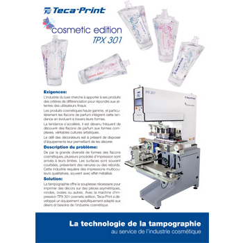 Machines de tampographie Cosmetic Edition