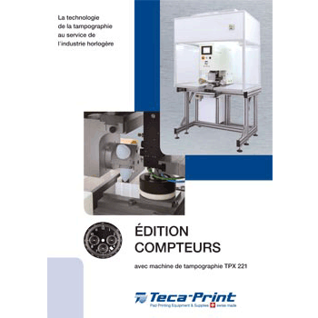 Machines de tampographie TPX 221 Edition Compteurs