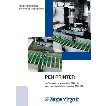 Systeme de tampographie PEN PRINTER