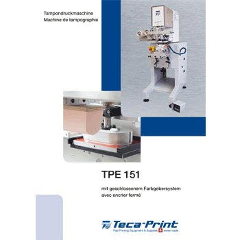 Machine de tampographie TPE_151