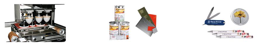 Tampondruckmaschinen und Tampondruckzubehör
